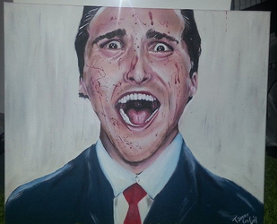 christian bale american psycho by Gnakill