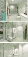 Istanbul House - Bathroom 3 by Semsa
