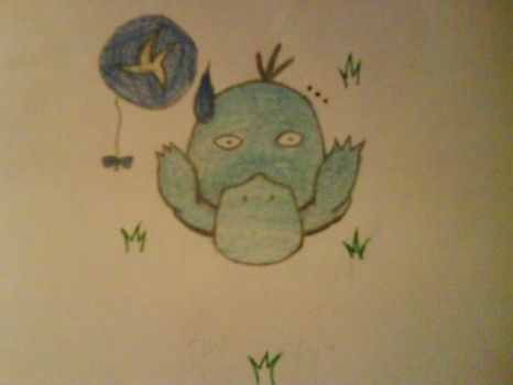 Psyduck for Cavea :3 by sidser