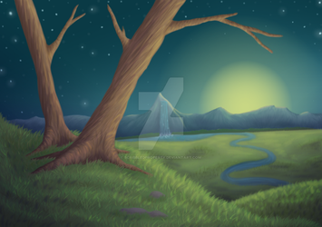 Background Practice by ScribbledProperty