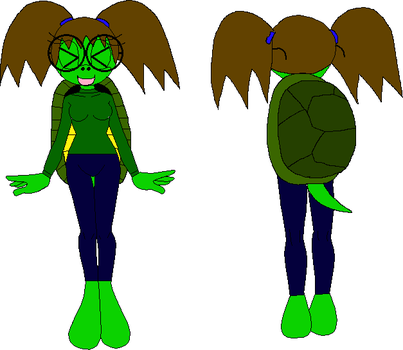 Female Mobian Turtle 2 by XxRobotChaoxX