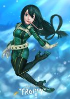 Asui Tsuyu, Froppy by Luches