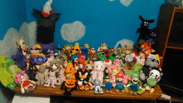 The Many Characters of TDJ98's Plush Videos by TwistedDarkJustin