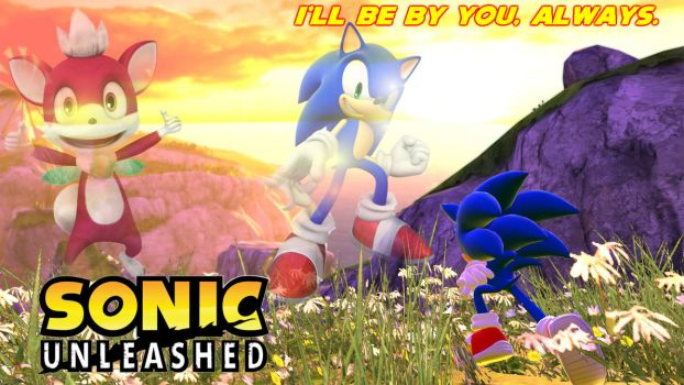 Sonic Unleashed Ending Wallpaper by FantasticFroakie03
