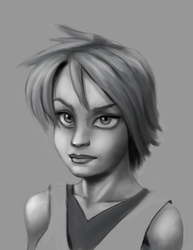 Grayscale Study by noumenus