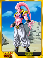 (Dragon Ball Z) Super Buu 'Gotenks' by el-maky-z