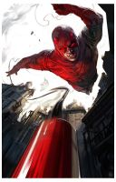 Daredevil roof jump by ChristianNauck
