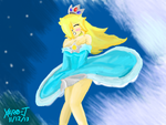 Rosalina: Windy Weather v3D :Colors 3D: by Xero-J