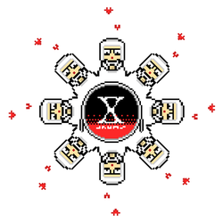 X-Drums Snowflake for Christmas! by X-Drums