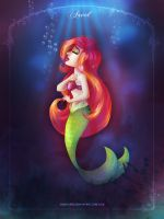 Ariel - The Little Mermaid by LilaCattis
