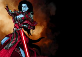 Chiss Sith Inqusitor by AHague