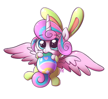 [My Little Pony] Happy Easter Flurry Heart! by Frank-Seven