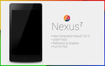 Nexus 7 (2013) PSD by danishprakash