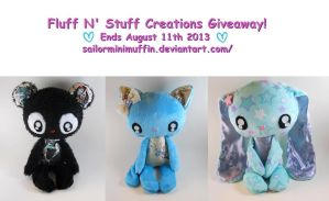 Giving away one of these plushies! by SailorMiniMuffin