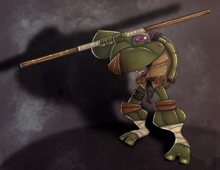 Another Donatello by KIRKparrish