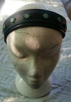 Leather Headband by g0tribe95
