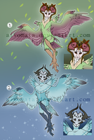 Haroth auction: Spring And Winter [0/2 Closed] by Aivomata