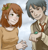 Autumn couple by clare-the-curious
