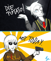 Die Potato by kovacsgreta