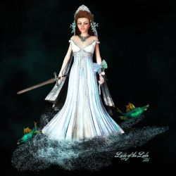 Lady of the Lake by Dani3D