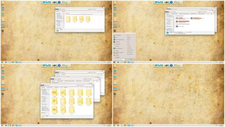 Skinpack Old Style For Windows 7/8.1/10 by TheDhruv