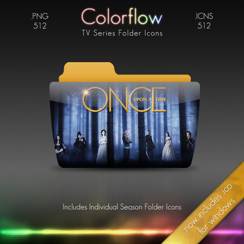 Colorflow TV Folder Icons: Once Upon A Time by Crazyfool16