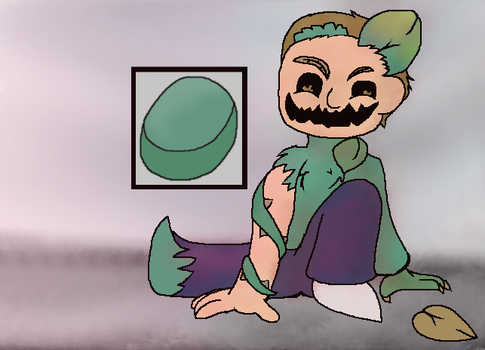 Fungus Morty by SkyPaint1