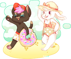 beach time fun! by irlnya