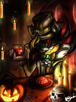 SaNiC HaLlOwEen #4: I'm Ready For My Interview Now by Blossom-fur7