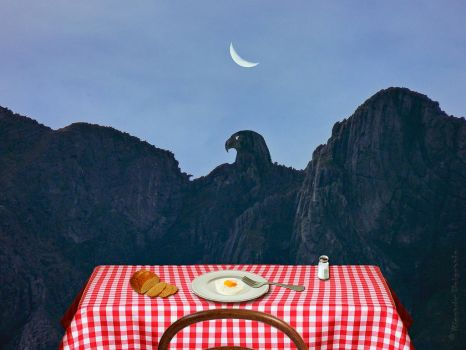 Le Domaine D'arnheim - Tribute to Magritte by rbai