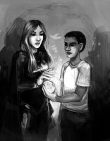 Commission: Sara and Raham by fee-absinthe