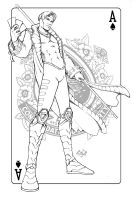 Gambit black and white by ComfortLove