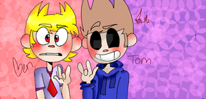 Crash Zoom and Eddsworld - Ben and Tommy boi by LexiCreepypasta