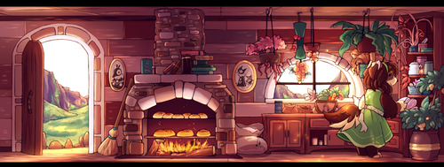 Baking Time by Feza-Creations