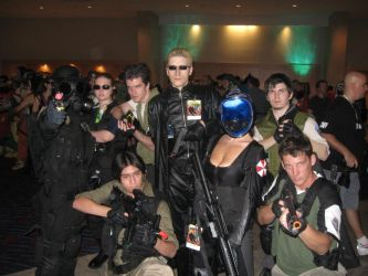 Resident Evil Group by Kamisamaa