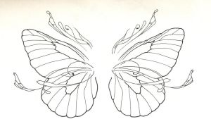 Butterfly Wings by Scarecrow-Black