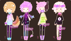 [CLOSED] ADOPTABLE BATCH #12 by OCshop