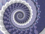 Spiral outside the lines by lamblyn