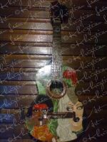 Opposing civilizations Guitar by khriztian