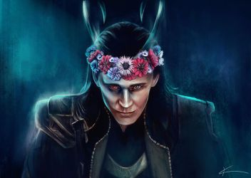 Chance May Crown Me - Loki by apfelgriebs