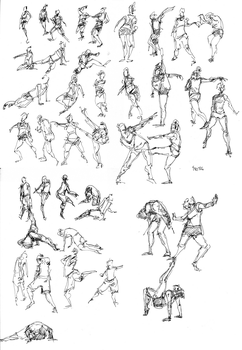 Gesture Stream 01 by sparksel