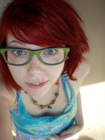 Geeky Redhead by MeganYourFace