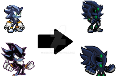 New Revamp of Kaio Sprite (modle) by Cable-ink