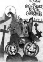 Nightmare Before Christmas by Kiwy