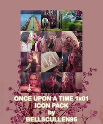 once upon a time 1x01 icon pack by BellsCullen95