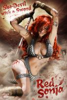 Red Sonja by Jeffach