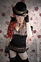Steampunk Lady Thief by HyperXP