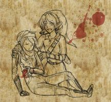 My blood for yours by Ardhes