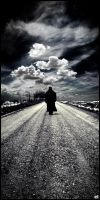 I walk alone by AdonisWerther
