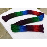 Loom Knit Scarf - Apple Orchard by Kyle-Lefort